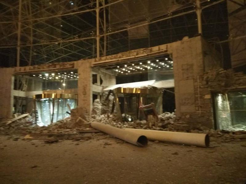 20170809-Jiuzhaigou Earthquake fake hotel photo.jpg