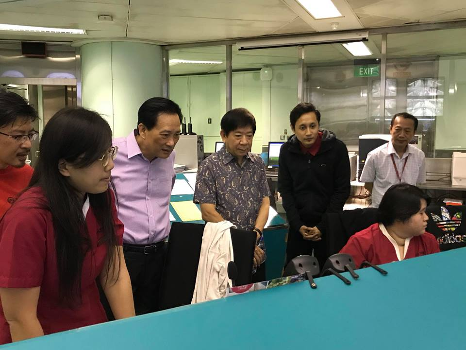 20171231-Khaw Boon Wan visits SMRT.jpg