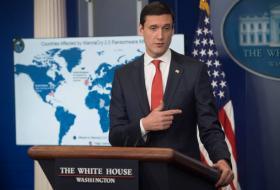 博塞特(Tom Bossert)在新闻发布会上指责朝鲜发动了WannaCry攻击。(互联网)